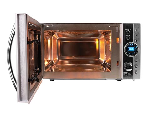 Open microwave oven - Frederick Appliance Repairs